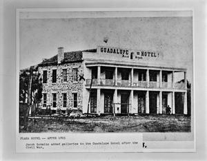 Primary view of object titled '[Guadalupe-Schmitz-Plaza Hotel]'.