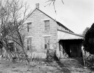 Primary view of object titled '[House, (West elevation)]'.