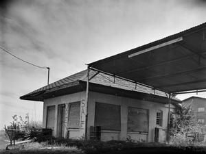Primary view of object titled '[Interurban Station Oak Cliff, (Northwest oblique)]'.