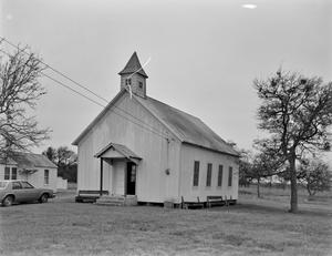 Primary view of object titled '[York Creek Church]'.