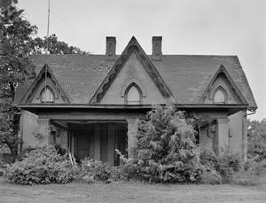 Primary view of object titled '[Nunn House, (East elevation)]'.