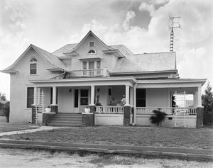 Primary view of object titled '[E.B Black House, (South elevation)]'.