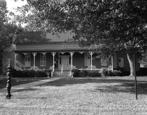 Primary view of object titled '[Northwest Faison House, (Northeast elevation)]'.