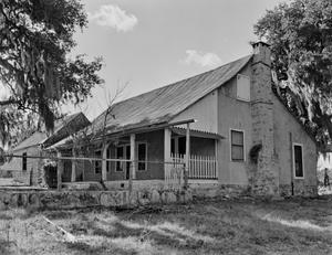 Primary view of object titled '[Adam Becker House, (Northeast oblique)]'.
