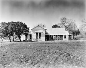 Primary view of object titled '[Ernst Gruene House, (South elevation)]'.