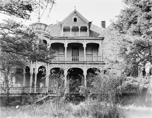 Primary view of object titled '[Moffet-Cox Residence, (East facade)]'.
