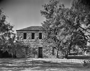Primary view of object titled '[County Jail, (North facade)]'.