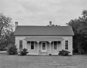 Primary view of object titled '[1 Story Clapboard House]'.