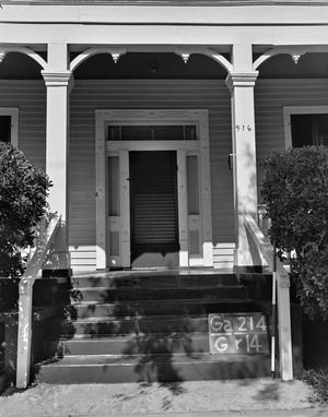 Primary view of object titled '[Historic Property, Photograph THC_14-0350]'.