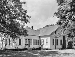 Primary view of object titled '[Reese House, (South oblique)]'.