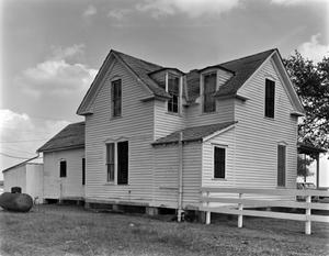 Primary view of object titled '[Milner-Hamilton-Oliver House, (Northwest oblique)]'.