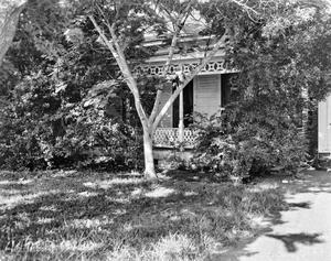 Primary view of object titled '[Kunze House, (East facade)]'.