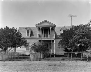 Primary view of object titled '[Boehm House, (South elevation)]'.