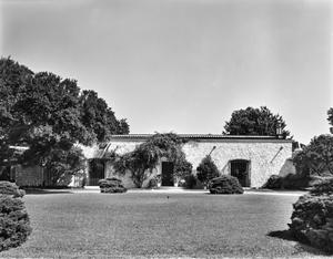 Primary view of object titled '[DeGoyler House, (Front (South) Entry)]'.