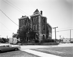 Primary view of object titled '[Grimes County Courthouse, (Northwest oblique)]'.