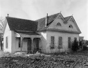 Primary view of object titled '[Eddie Hahn House, (Southeast oblique)]'.