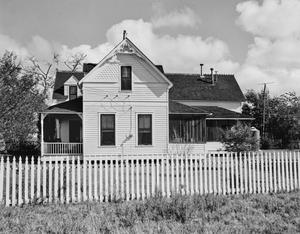 Primary view of object titled '[Benedict-Brandt House, (Southeast facade)]'.
