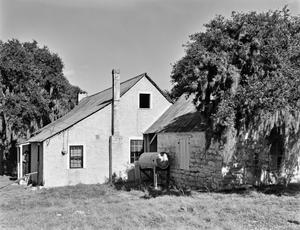 Primary view of object titled '[Adam Becker House, (Southwest oblique)]'.