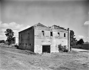 Primary view of object titled '[Brulay Plantation, (Southwest oblique, Building #6)]'.