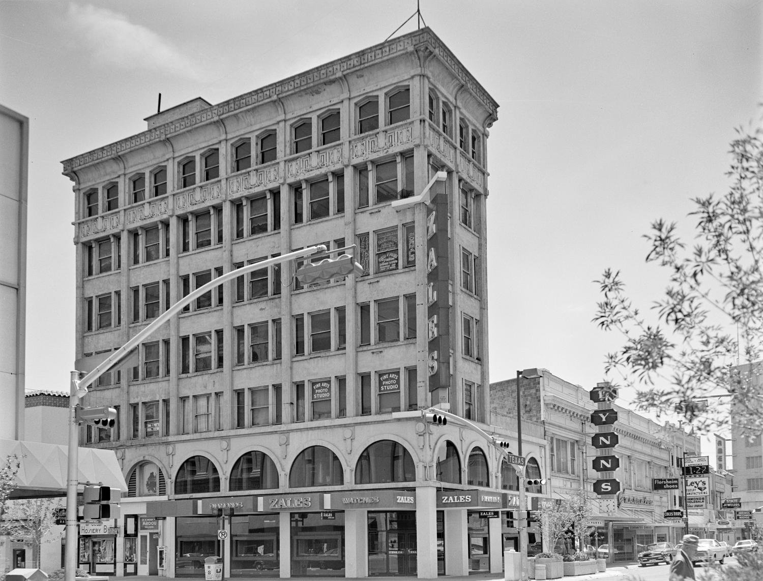 [Abdou Building, (Northeast oblique and camera facing Southwest)]                                                                                                      [Sequence #]: 1 of 1