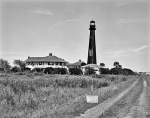 Primary view of object titled '[Bolivar Point Lighthouse]'.