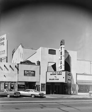 Primary view of object titled '[Texas Theater, (Southern facade)]'.
