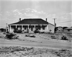 Primary view of object titled '[Officer's Quarters, (East elevation)]'.