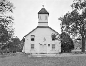 Primary view of object titled '[Bethlehem Lutheran Church, (East elevation)]'.