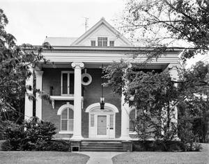 Primary view of object titled '[Beaty House, (Front elevation)]'.