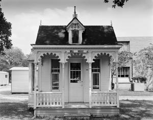 Primary view of object titled '[Doll House, (Northwest oblique)]'.