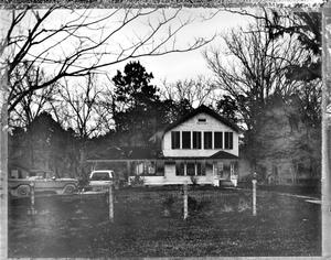 Primary view of object titled '[Dr. George Morgan House, (Southeast elevation)]'.