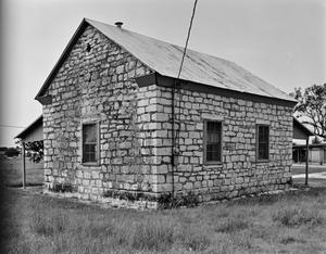 Primary view of object titled '[Old School House, (Northwest oblique)]'.