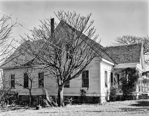 Primary view of object titled '[Brown House, (Southwest oblique)]'.
