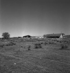 Primary view of object titled '[Escarbada Headquarters (division) of Xit Ranch]'.