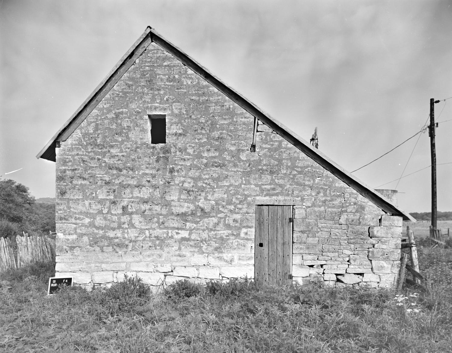 [Old Itz House, (East elevation, barn)]                                                                                                      [Sequence #]: 1 of 1