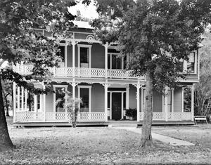 Primary view of object titled '[Toliver-Cone House, (South facade)]'.