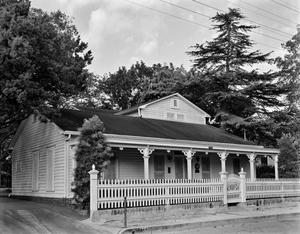 Primary view of object titled '[Scholl House, (Southeast oblique)]'.