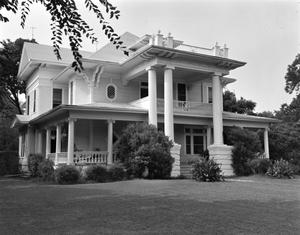 Primary view of object titled '[Classical Revival House]'.