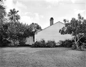 Primary view of object titled '[W.M. Neale Home, (East elevation)]'.