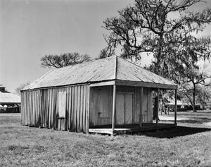 Primary view of object titled '[Store Building, (Northeast oblique)]'.