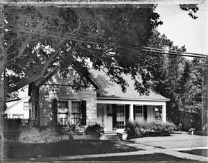 Primary view of object titled '[Greer-Wellborn-Waters House, (Southwest oblique)]'.