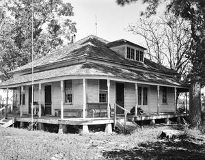 Primary view of object titled '[Alexander Himley-Otto Uhlig House, (West oblique)]'.