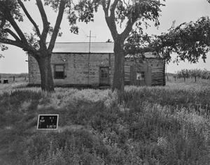 Primary view of object titled '[Old Brood Beck House, (East elevation)]'.