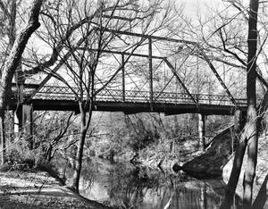 Primary view of object titled '[Joppa Iron Bridge - North Gabriel, (East elevation)]'.