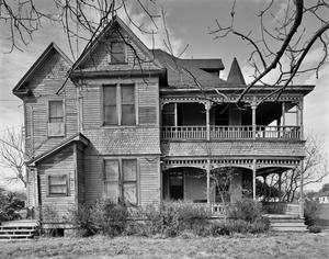 Primary view of object titled '[Frank B. Davidson House, (South elevation)]'.