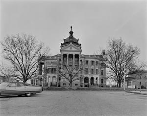 Primary view of object titled '[Old Harrison County Courthouse, (View 4 - West elevation)]'.