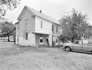 Primary view of object titled '[John Kincaid House, (Northwest)]'.