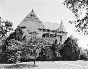 Primary view of object titled '[R. Vickery-Will Hancock House]'.