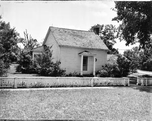 Primary view of object titled '[Peach Point Plantation, (Northeast oblique)]'.