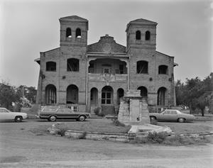 Primary view of object titled '[La Lomita Historic District, (North of main elevation)]'.